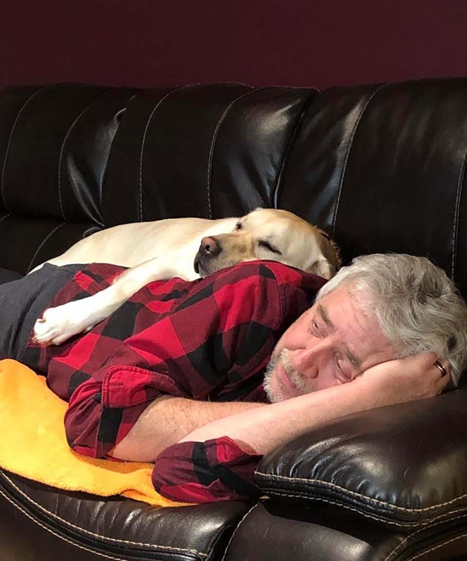 Papás y sus mascotas