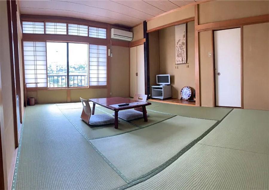 Sala de posada japonesa