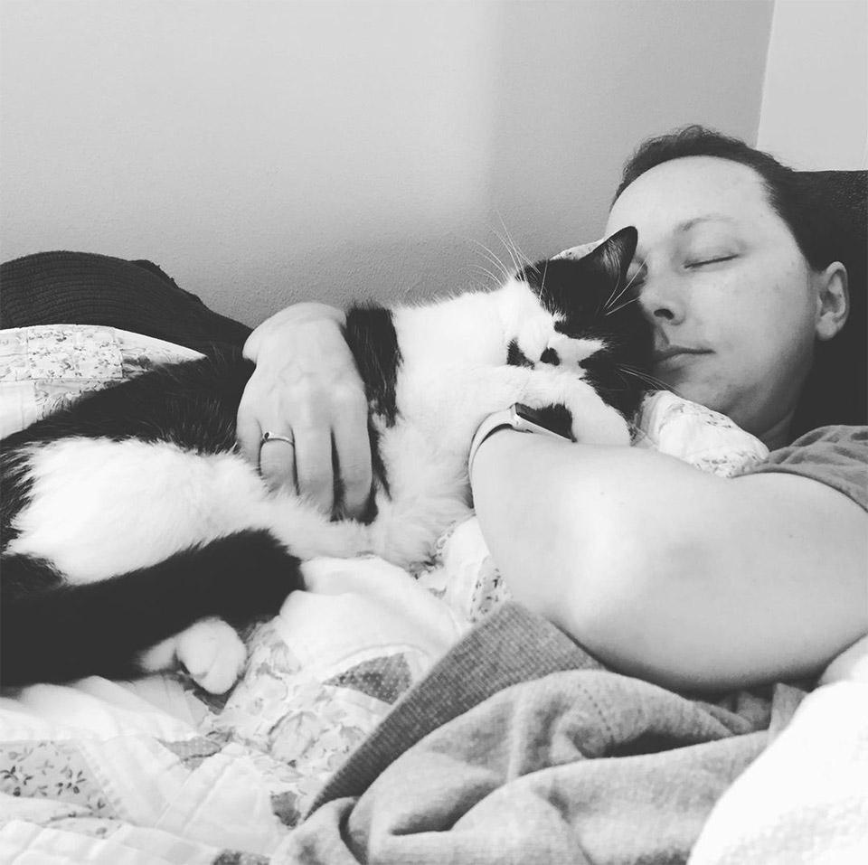 Kate y su gato