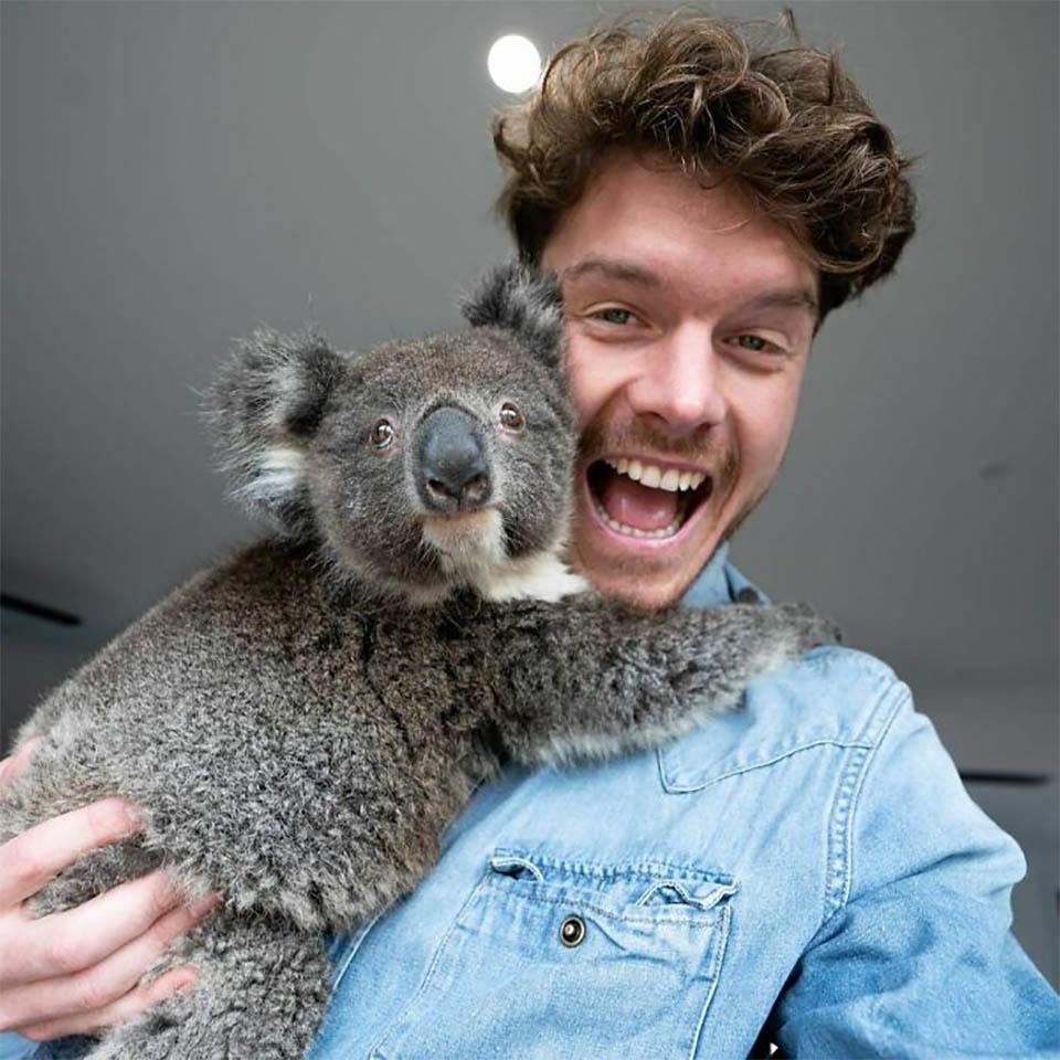 Allan y Koala