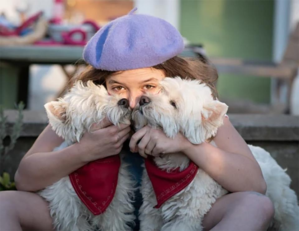 Fanny y cachorros